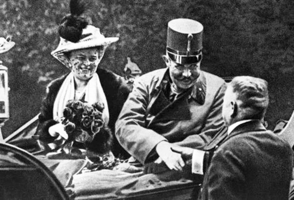 Ferenc Ferdinánd főherceg feleségével