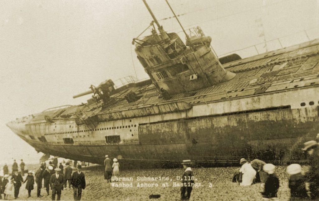 U118 tengeralattjáró