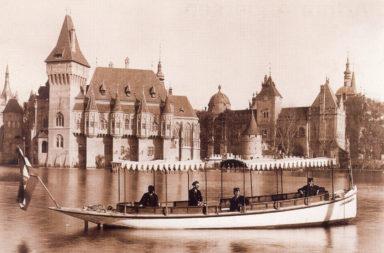 1900 Vajdahunyad vára