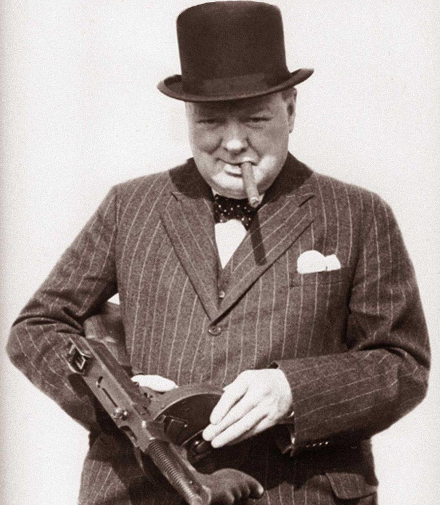 Winston képes volt az amcsik fegyvereit is kezelni