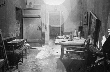 Hitler bunkerének másolata egy berlini múzeumban